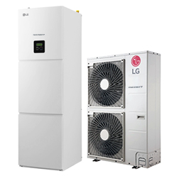 Warmtepomp installatie LG